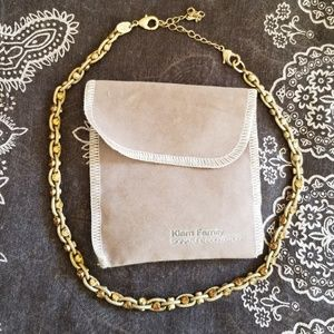 Signature Collection Jewelry - Gold plated short necklace